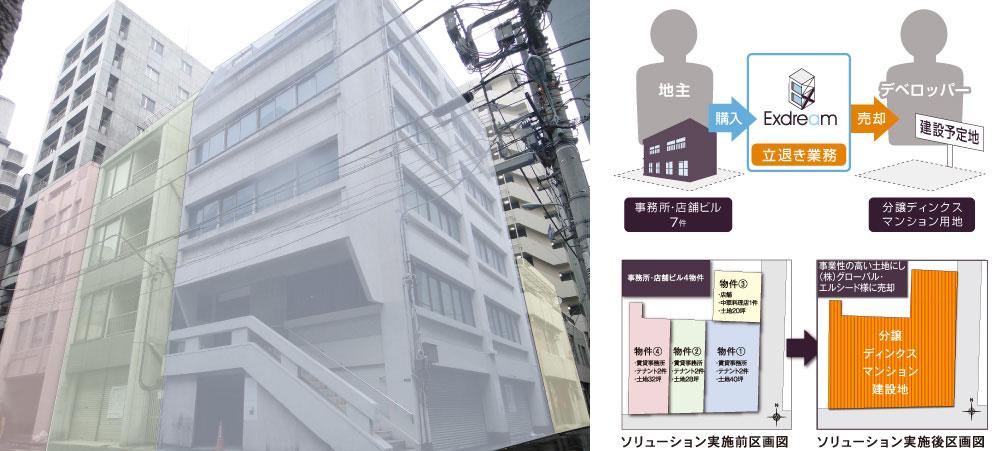 八丁堀(ディンクスマンション用地)H24.12