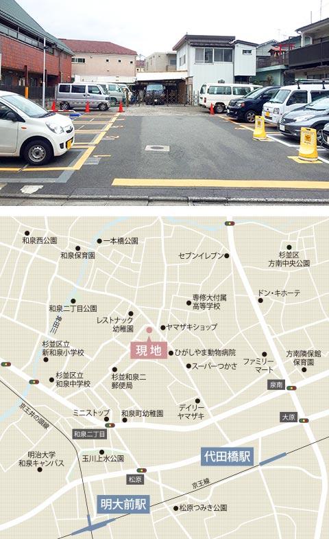 代田橋(事業用地)H30.5